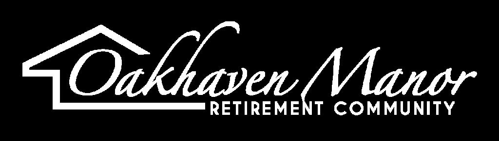 Oakhaven Manor White Logo